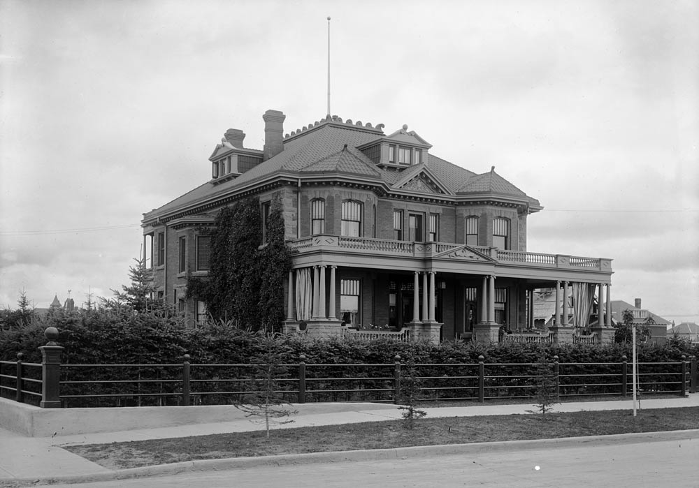 The Hull House, an elaborate mansion, was built in Calgary in 1905.