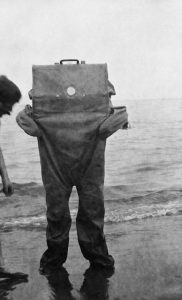 John Edlund's weird, wacky and wild life-saving suit that tucks into a travelling case