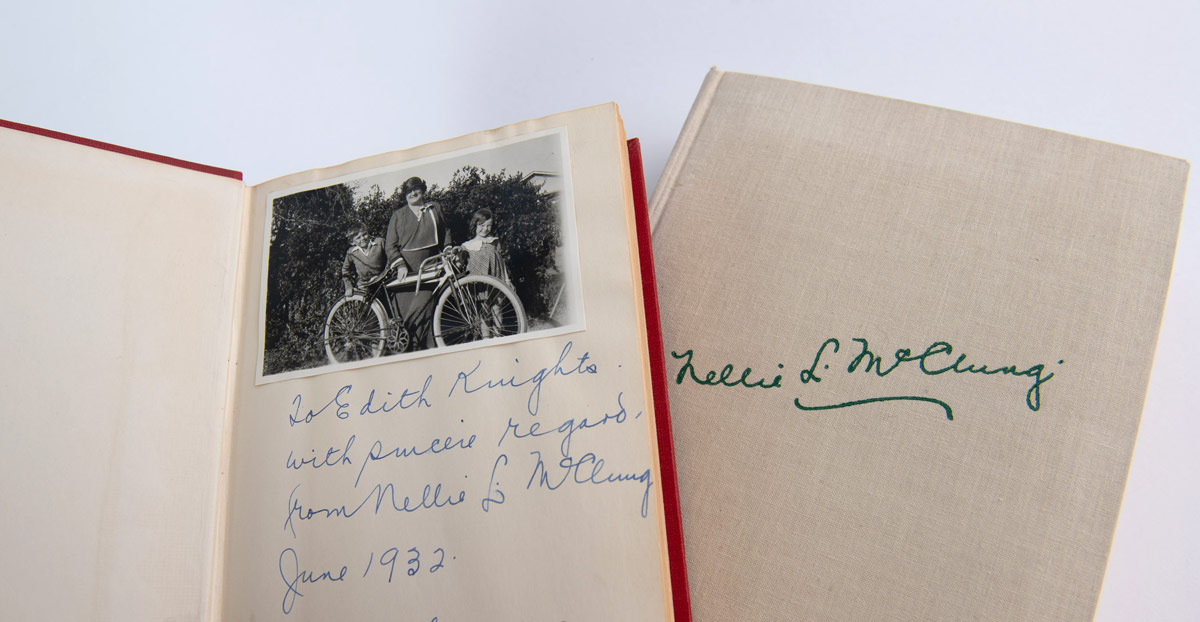 Nellie McClung and the Glenbow Library