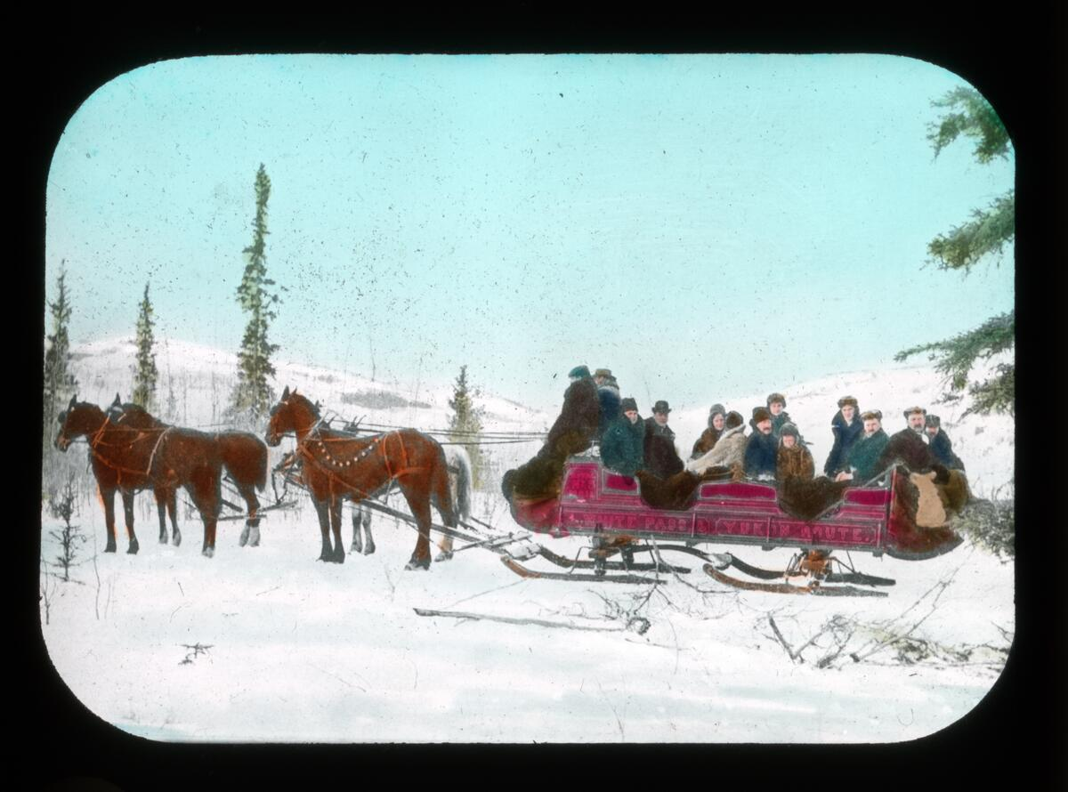 Winter photos from the Glenbow Archives