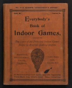 Parlour game books